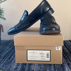 Cole Haan black dressing shoes